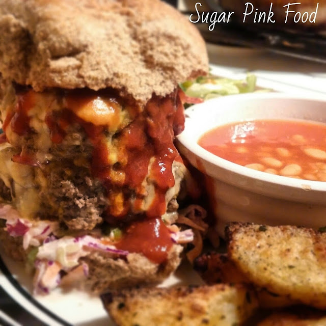 Double Texas BBQ Burger recipe slimming world weight watchers