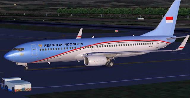 DOWNLOAD Repaint A-001 Pmdg 737-800 NGX | Waktu Bersimulasi