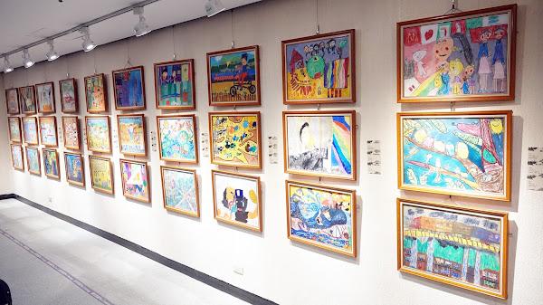 彰化縣童畫心世界得獎作品 員林演藝廳展出