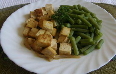 receita da dieta zona tofu com cebolada