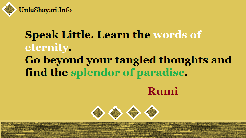 eternity quotes , deep thoughts, rumi quotes