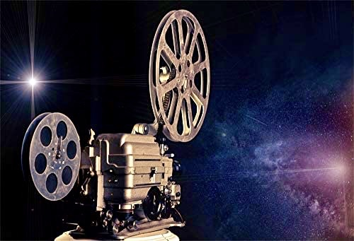 Tune In! Image of old style video projector and light