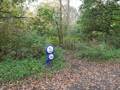 National Lottery in the woods in Cheadle Hulme