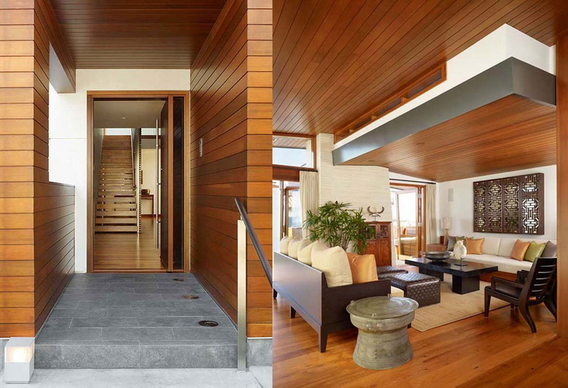 Home Interior Designs: Wood Designs Ideas For Walls