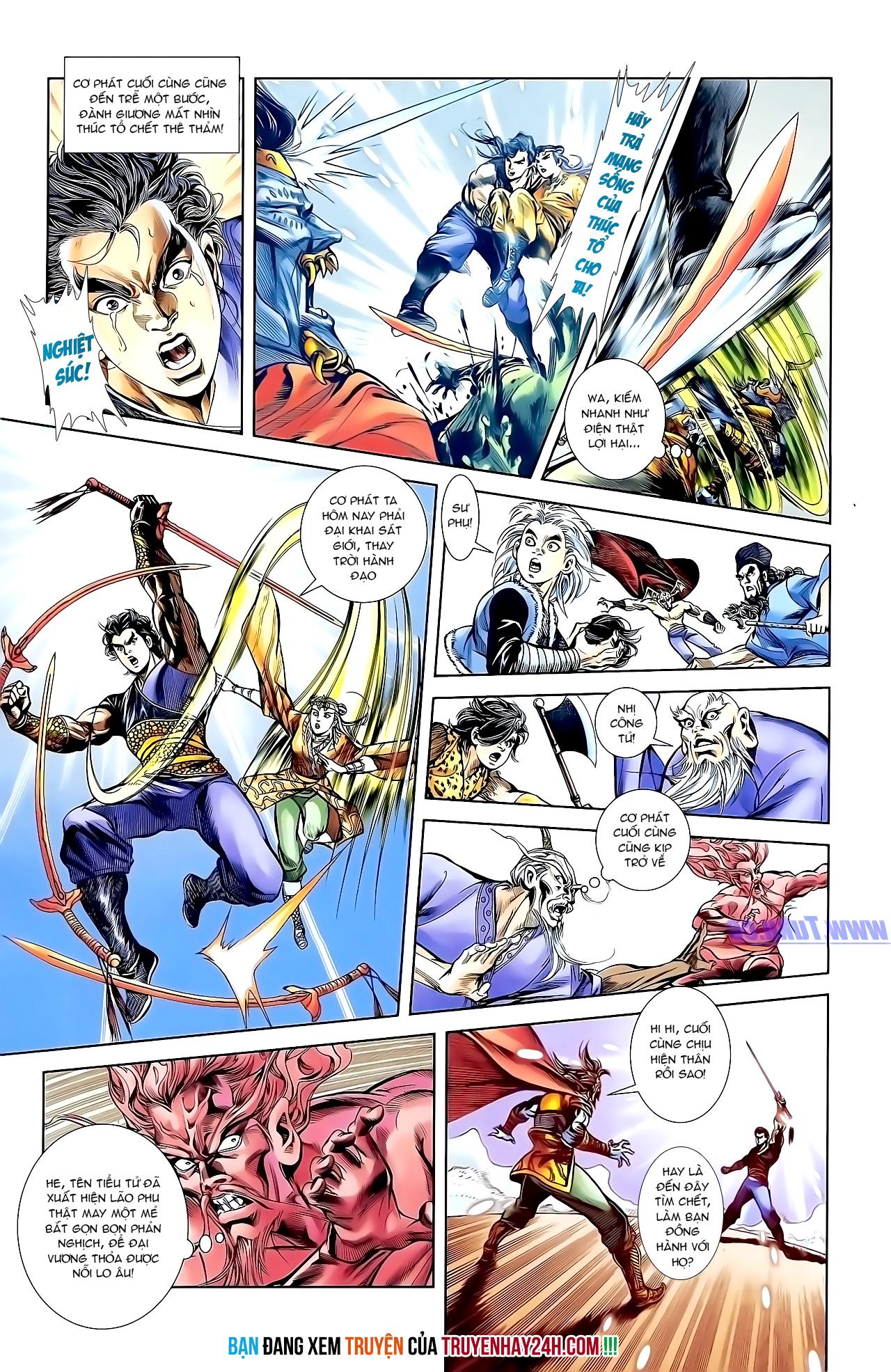 Cơ Phát Khai Chu Bản chapter 155 trang 28