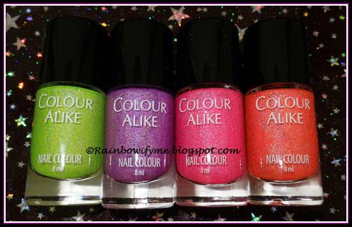 Colour Alike ~ Some Like It Hot