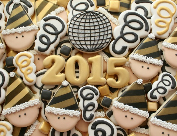 Top New Year S Eve Decorated Cookie Tutorials