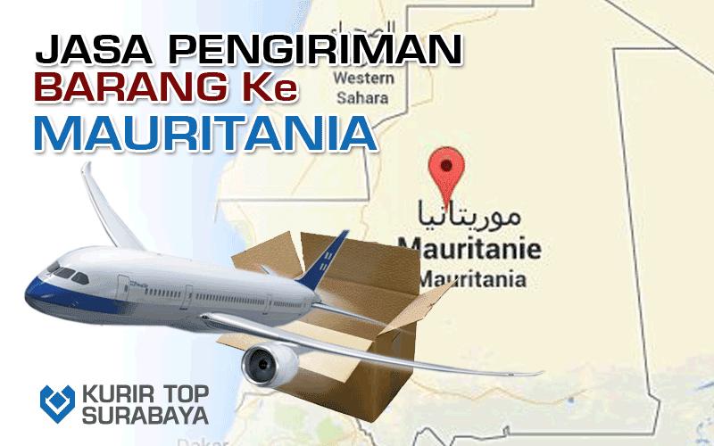 JASA PENGIRIMAN LUAR NEGERI | KE MAURITANIA