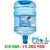 Bình nước uống giá rẻ bình 20 lít dạng úp vô cây nước nóng lạnh- Aquavita