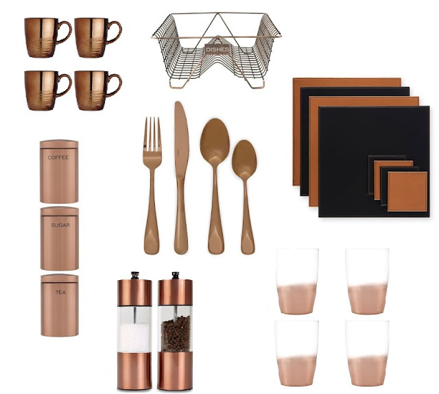 Next copper homeware