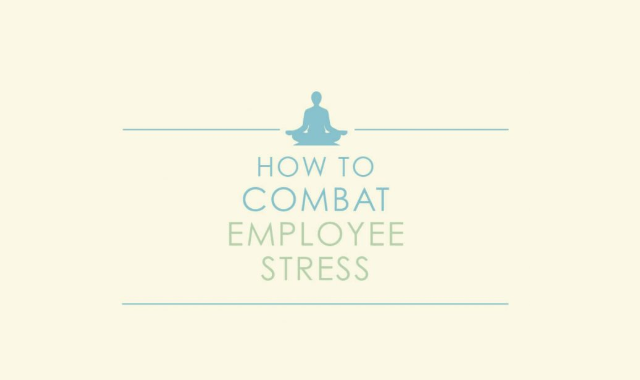 Effective Ways of Reducing Stress at Work #infographic