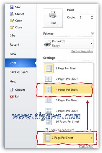 cara membuat halaman baru di microsoft word 2010