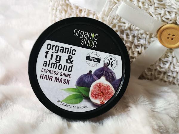 organic shop maska nabłyszczająca