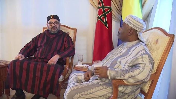 El rey de Marruecos aterriza en Gabón junto con su amigo para pasar sus lujosas vacaciones