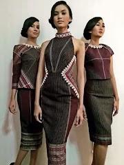 31 Model Baju Dress Dari Ulos Batak, Ide Terbaru!