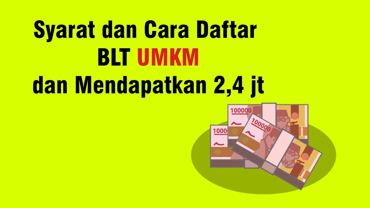 Login Depkop Go Id Cara Daftar Blt Umkm Online Gelombang Ii Cek Syarat Lengkapnya Di Sini Buletin Banten