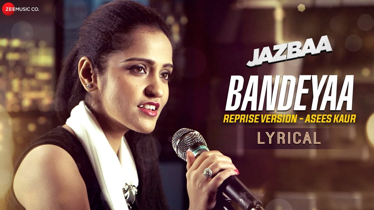Bandeyaa Reprise Song Lyrics