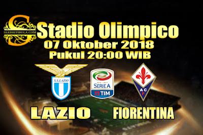 Agen Bola Online Terbesar - Prediksi Skor Serie A Italia Lazio Vs Fiorentina 07 Oktober 2018