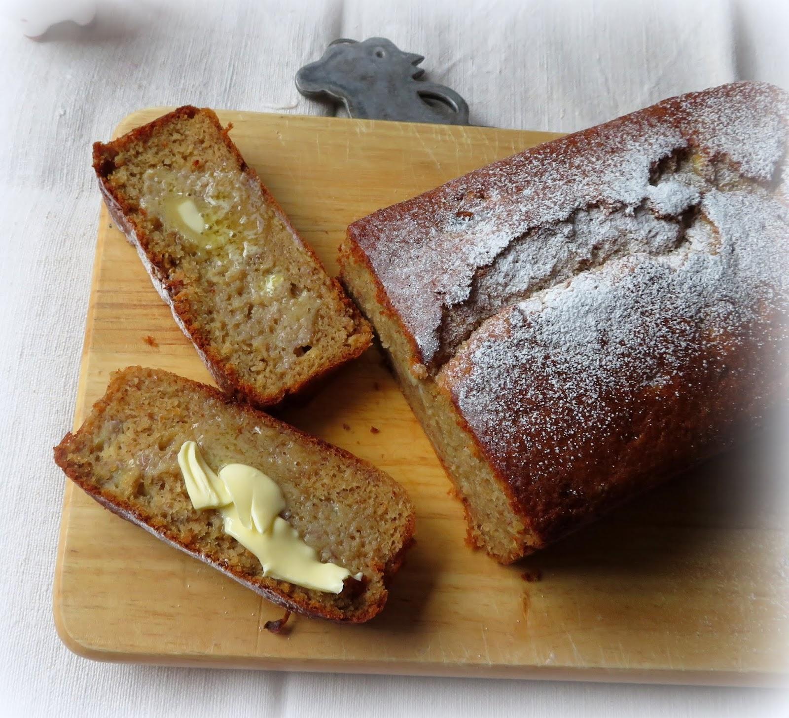 Banana & Golden Syrup Loaf