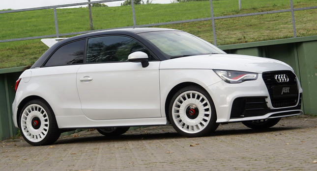 Over Revving Modded Version Audi A1 Quattro