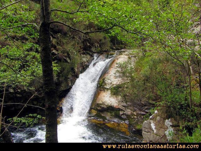 Ruta del Alba: Salto de agua en el río Alba