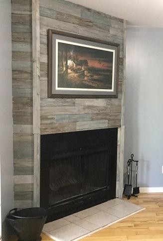 DIY Fireplace reno