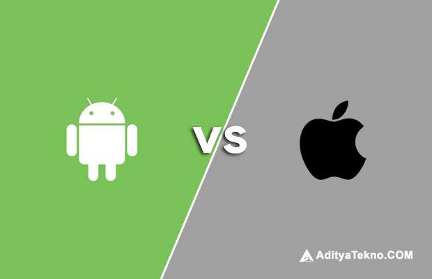 Android vs iOS Bagusan Mana?