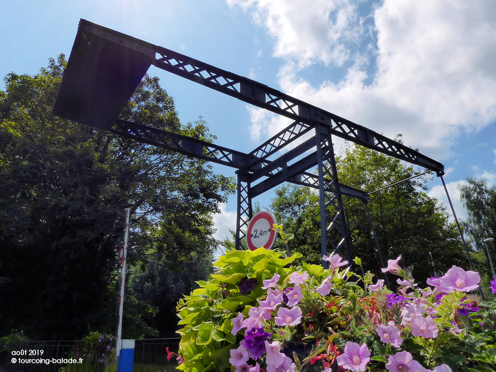 Pont du Halot, Canal Tourcoing 2019