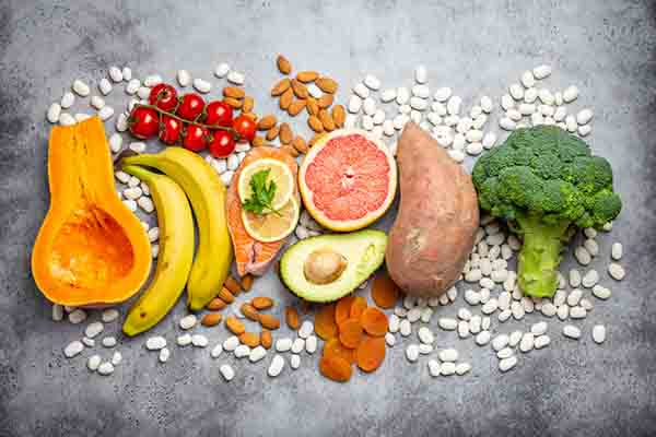 Excess Potassium in Vegetables and Fruits
