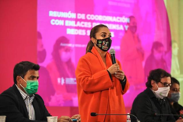 Informar con eficiencia y oportunidad, pide Julieta López Bautista a enlaces de comunicación