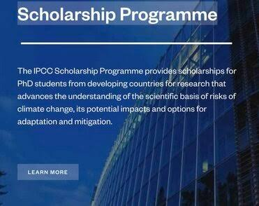 |New Scholarship Opportunities | IPCC Scholarship Programme 2021 To Study PhD| NEW SCHOLARSHIP 2021