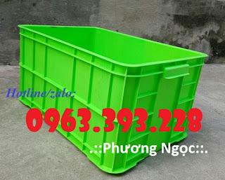 Thùng nhựa đặc cao 31 có nắp, thùng đựng phụ tùng cơ khí 2bf427347bc79999c0d6