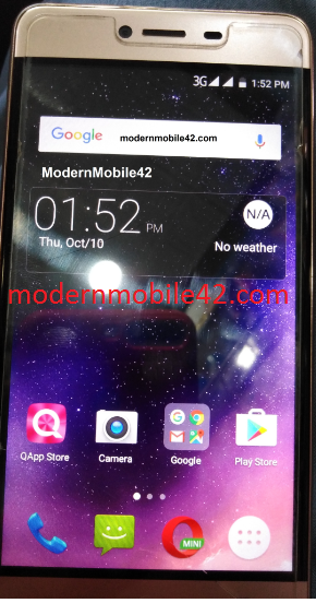 QMobile X2 ENERGY MTK6580 FLASH FILE