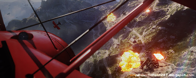 Battlefield HD Dogfight Wallpaper