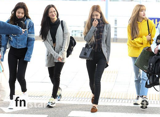 BLACKPINK Enroute to Jakarta for Shopee Road to 12.12 Birthday Sale
