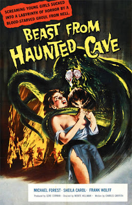 Poster - Beast from Haunted Cave (1959)