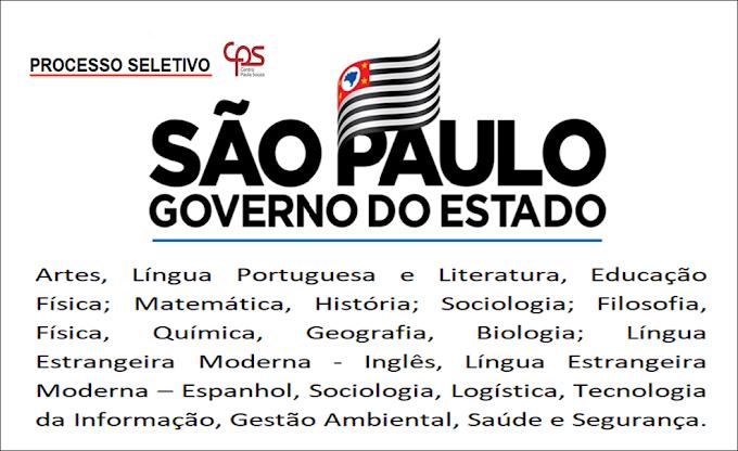Governo de SP tem Processo Seletivo com inscrições abertas. Saiba Mais