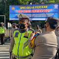 Polres Kep. Selayar Laksanakan Apel Gelar Pasukan Jelang Ramadhan 1442 H