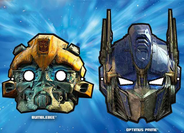 Imagenes Mascaras De Transformer: [transformers Univerese] Optimus Prime V6 & Bumblebee Mask