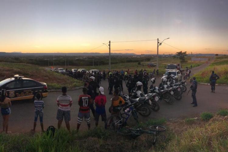 Motociclistas que faziam racha são encurralados e motos são apreendidas no Cariri