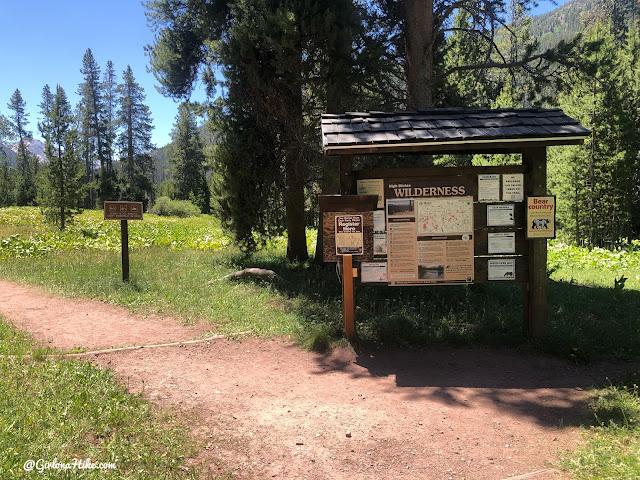 Backpacking to Amethyst Lake, Uintas