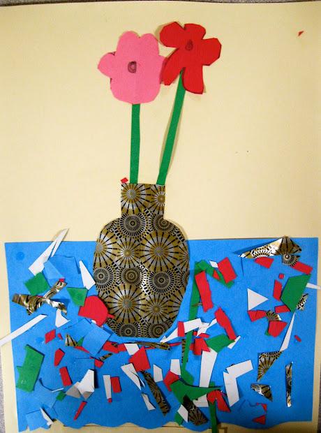 Angie Villa Art & Education Life Collage- 4th Grade
