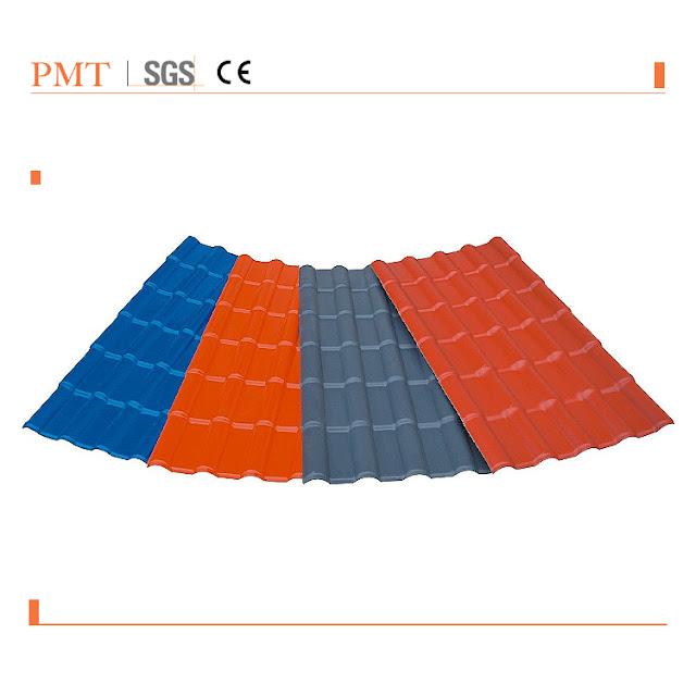 合成树脂瓦的生产工艺流程