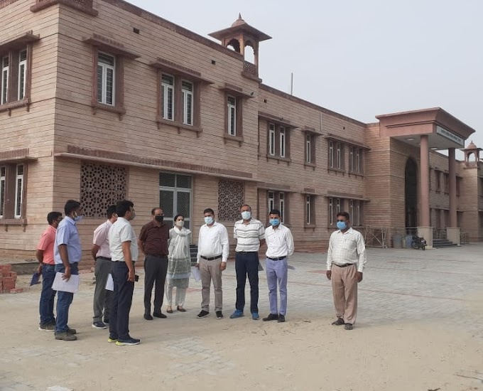 Rajasthan News-परिवहन आयुक्त महेंद्र सोनी ने जोधपुर, दूदू, किशनगढ़, ब्यावर और बालोतरा कार्यालयों का किया निरीक्षण