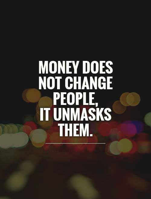 value of money quotes