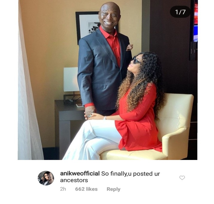 """""""So Finally, You Posted Your Ancestors"""" – Nigerians Are Surely Not Smiling At Regina Daniels After She Shared Matching Outfit With Her Husband (Read Reactions)"""
