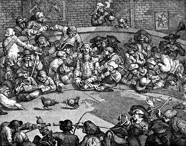 William Hogarth cockfight 1759