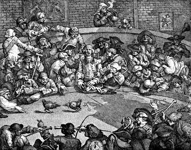William Hogarth cockfight 1759