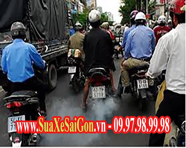 Nguyên nhân dẫn đến tình trạng xe máy ra khói trắng