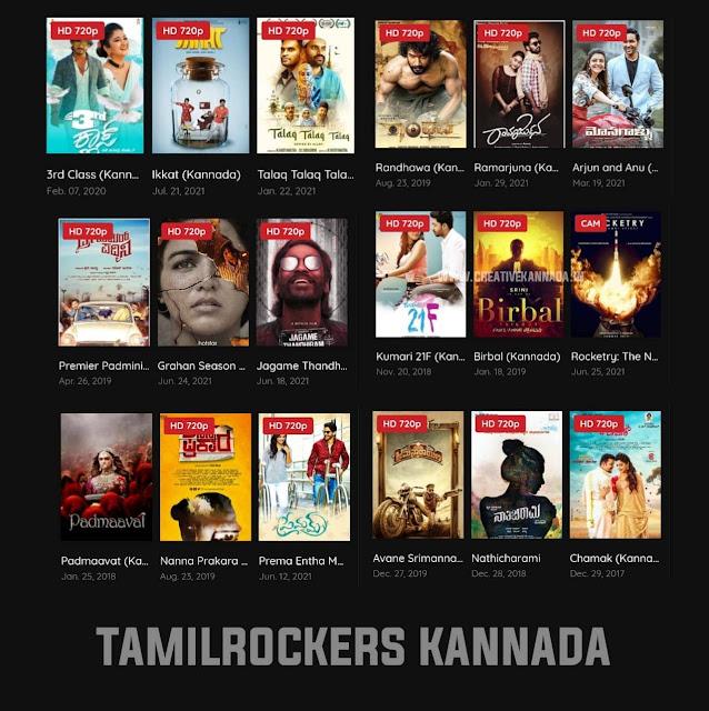 Kannada Movie Download in Tamilrockers | How to Download Kannada HD Movies